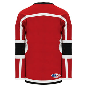 H7000-414 Red/Black/White League Style Blank Hockey Jerseys