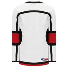 H7000-415 White/Red/Black League Style Blank Hockey Jerseys