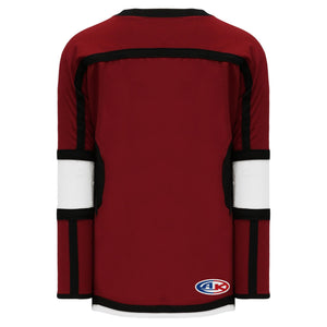 H7000-426 Av Red/White/Black League Style Blank Hockey Jerseys