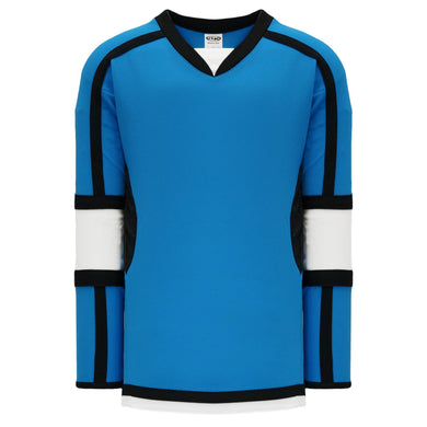 H7000-444 Pro Blue/White/Black League Style Blank Hockey Jerseys