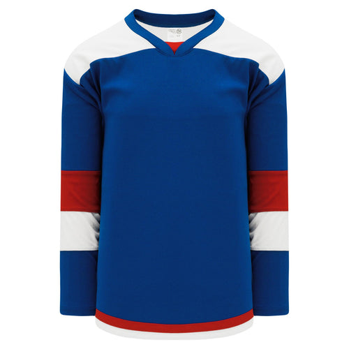 H7400-333 Royal/White/Red League Style Blank Hockey Jerseys