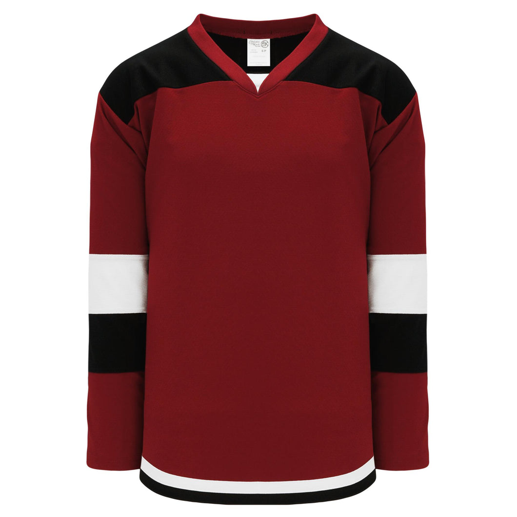 H7400-426 Av Red/Black/White League Style Blank Hockey Jerseys