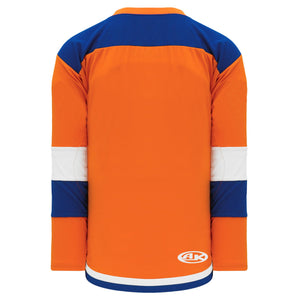 H7400-483 Orange/Royal/White League Style Blank Hockey Jerseys