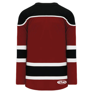 H7500-426 Av Red/Black/White League Style Blank Hockey Jerseys