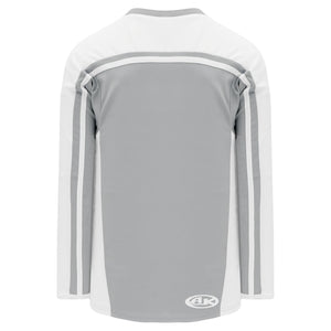 H7600-245 Grey/White League Style Blank Hockey Jerseys