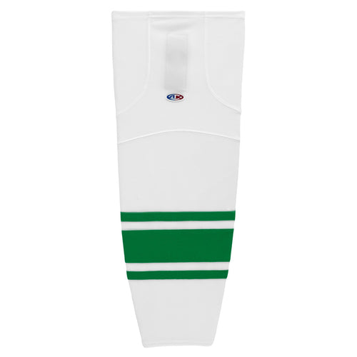HS2100-211 White/Kelly Hockey Socks