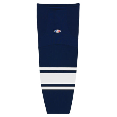 HS2100-216 Navy/White Hockey Socks