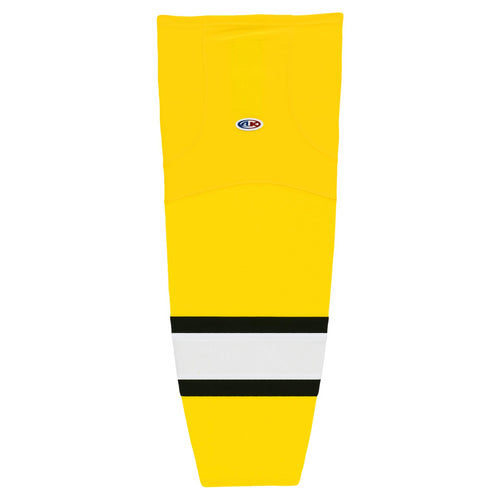 HS2100-256 Maize/Black/White Hockey Socks