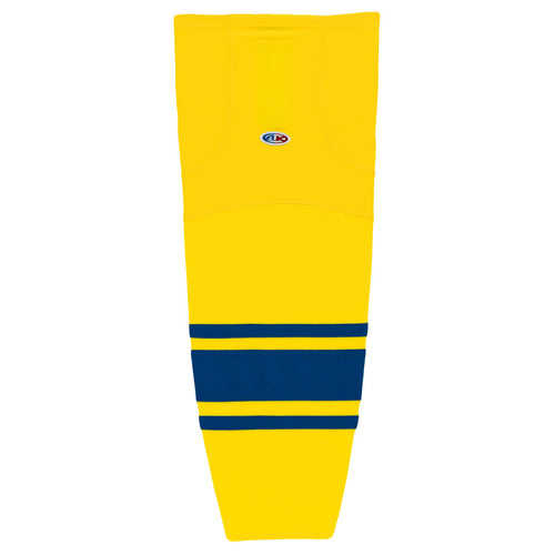 HS2100-257 Maize/Royal Hockey Socks
