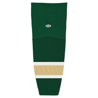 HS2100-262 Dark Green/White/Vegas Hockey Socks