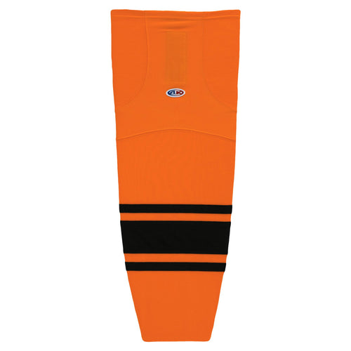 HS2100-263 Orange/Black Hockey Socks