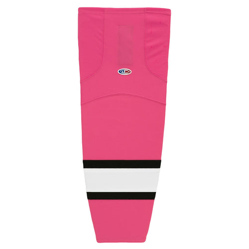 HS2100-272 Pink/White/Black Hockey Socks
