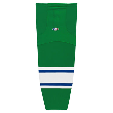 HS2100-347 Kelly/Royal/White Hockey Socks