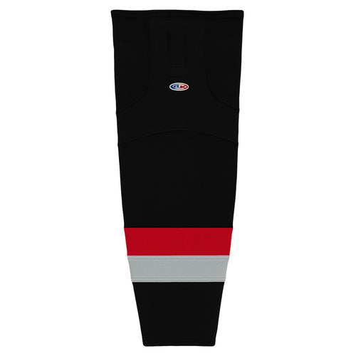 HS2100-529 Carolina Hurricanes Hockey Socks
