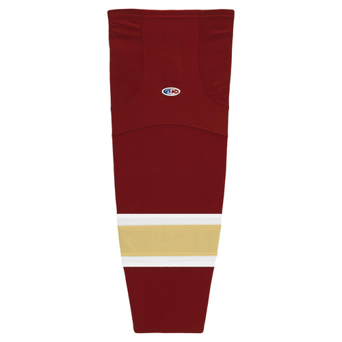 HS2100-542 Av Red/White/Vegas Hockey Socks