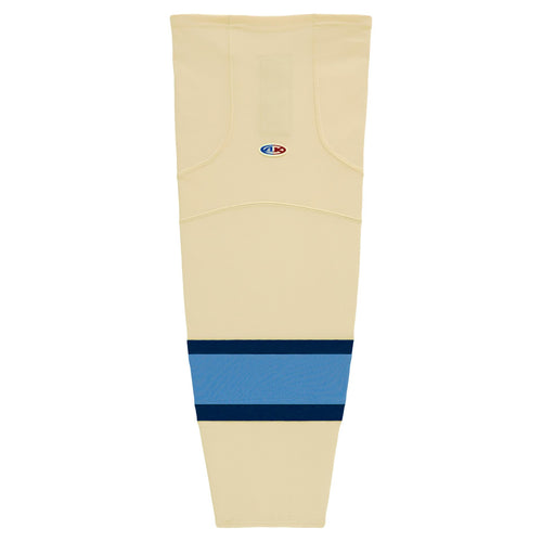 HS2100-545 Sand/Navy/Sky Hockey Socks