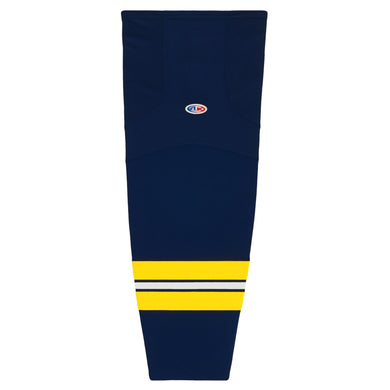 HS2100-589 University of Michigan Hockey Socks
