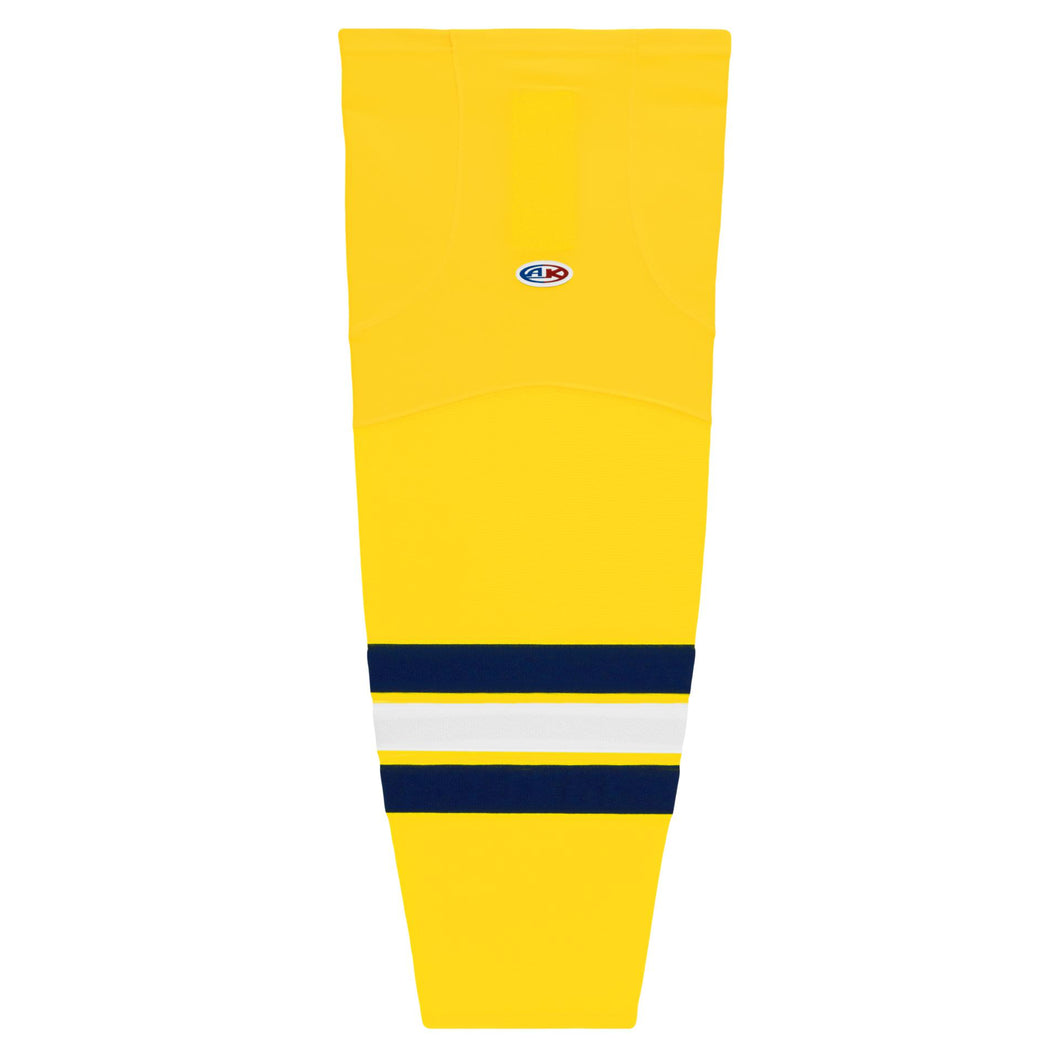 HS2100-590 University of Michigan Hockey Socks
