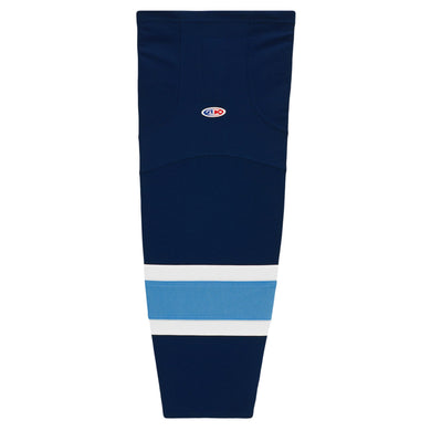 HS2100-761 Navy/Sky/White Hockey Socks