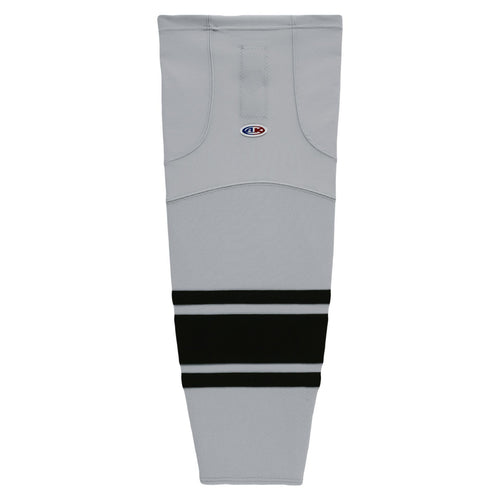 HS2100-822 Grey/Black Hockey Socks
