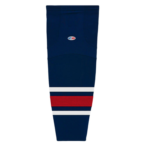 HS2100-890 Columbus Blue Jackets Hockey Socks