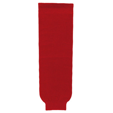 HS630-005 Red Hockey Socks