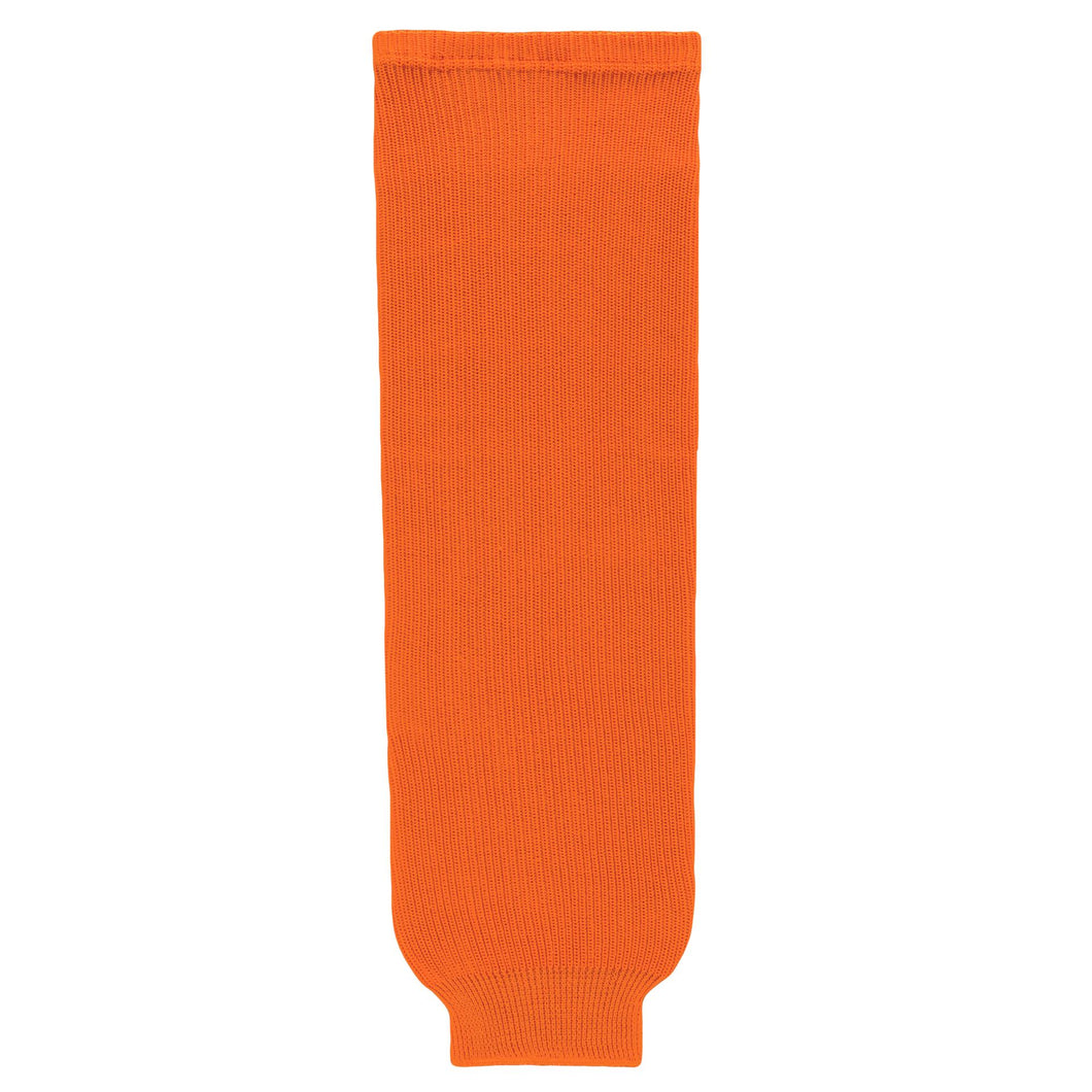 HS630-064 Orange Hockey Socks