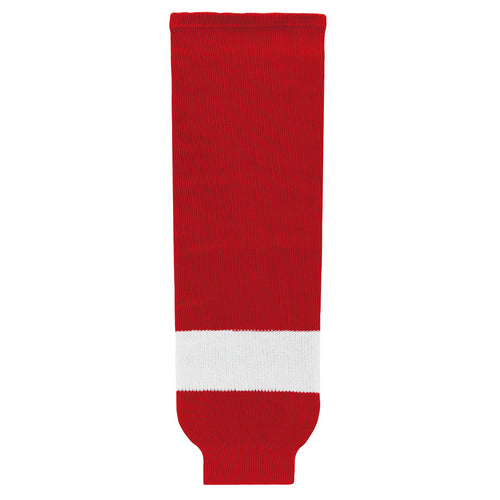 HS630-202 Detroit Red Wings Hockey Socks