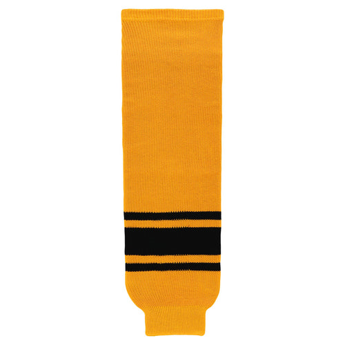 HS630-213 Gold/Black Hockey Socks