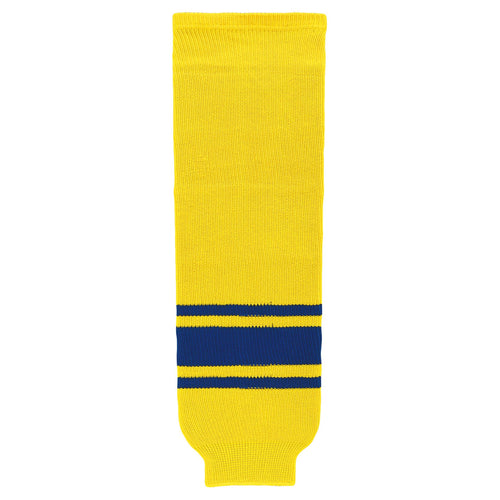 HS630-257 Maize/Royal Hockey Socks