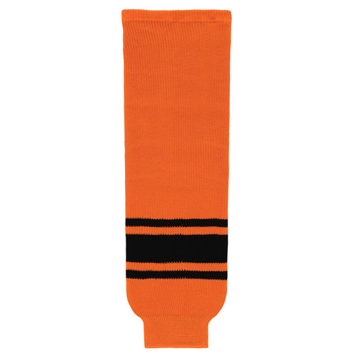 HS630-263 Orange/Black Hockey Socks