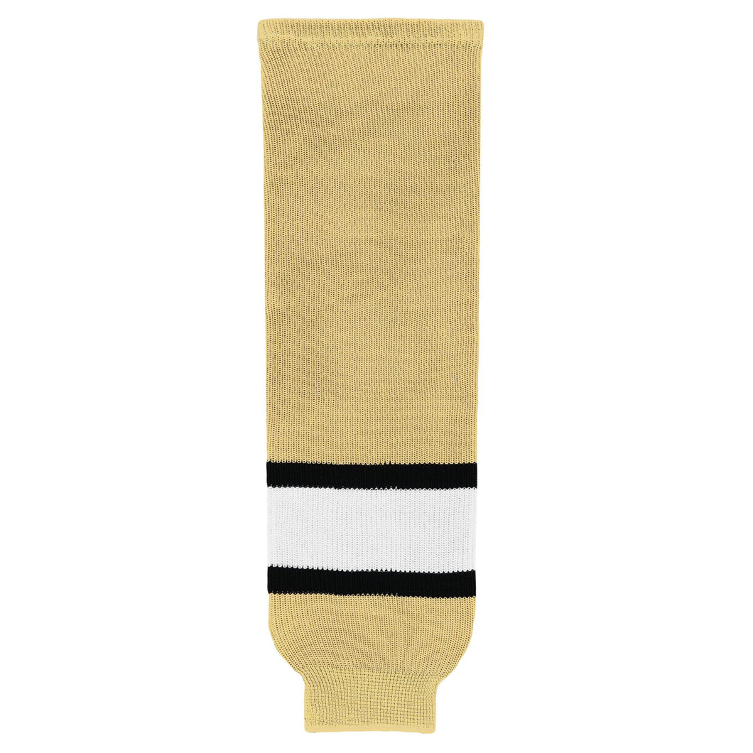 HS630-281 Vegas/Black/White Hockey Socks