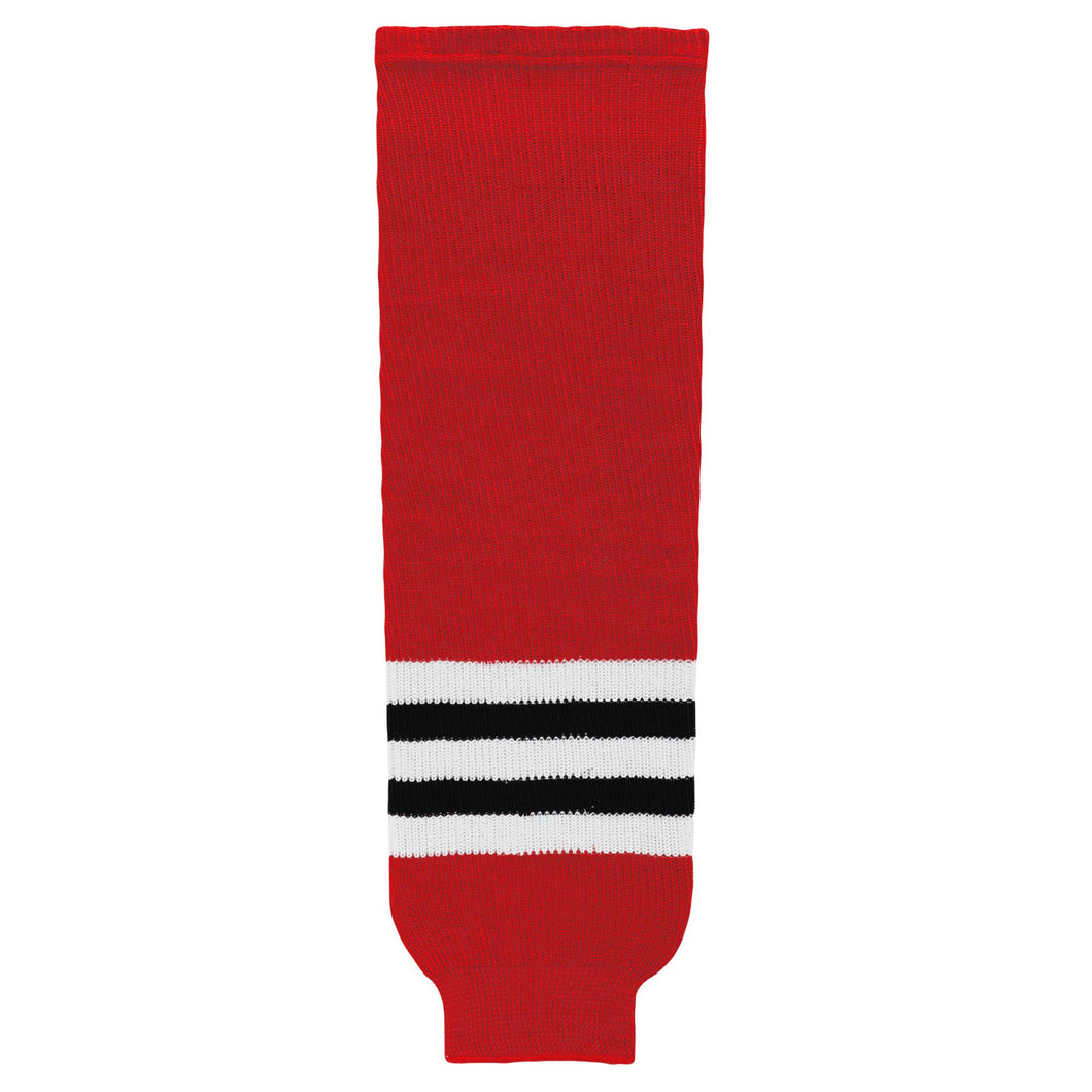 HS630-304 Chicago Blackhawks Hockey Socks