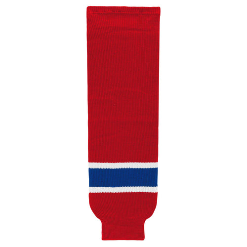 HS630-308 Montreal Canadiens Hockey Socks