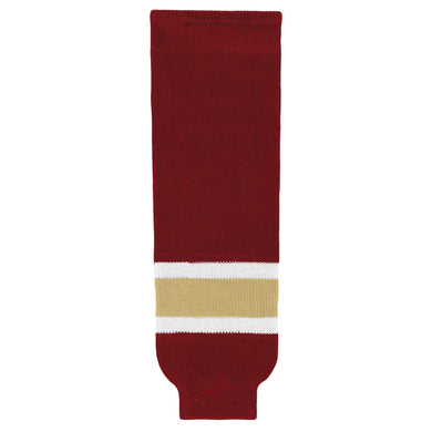 HS630-542 Av Red/White/Vegas Hockey Socks