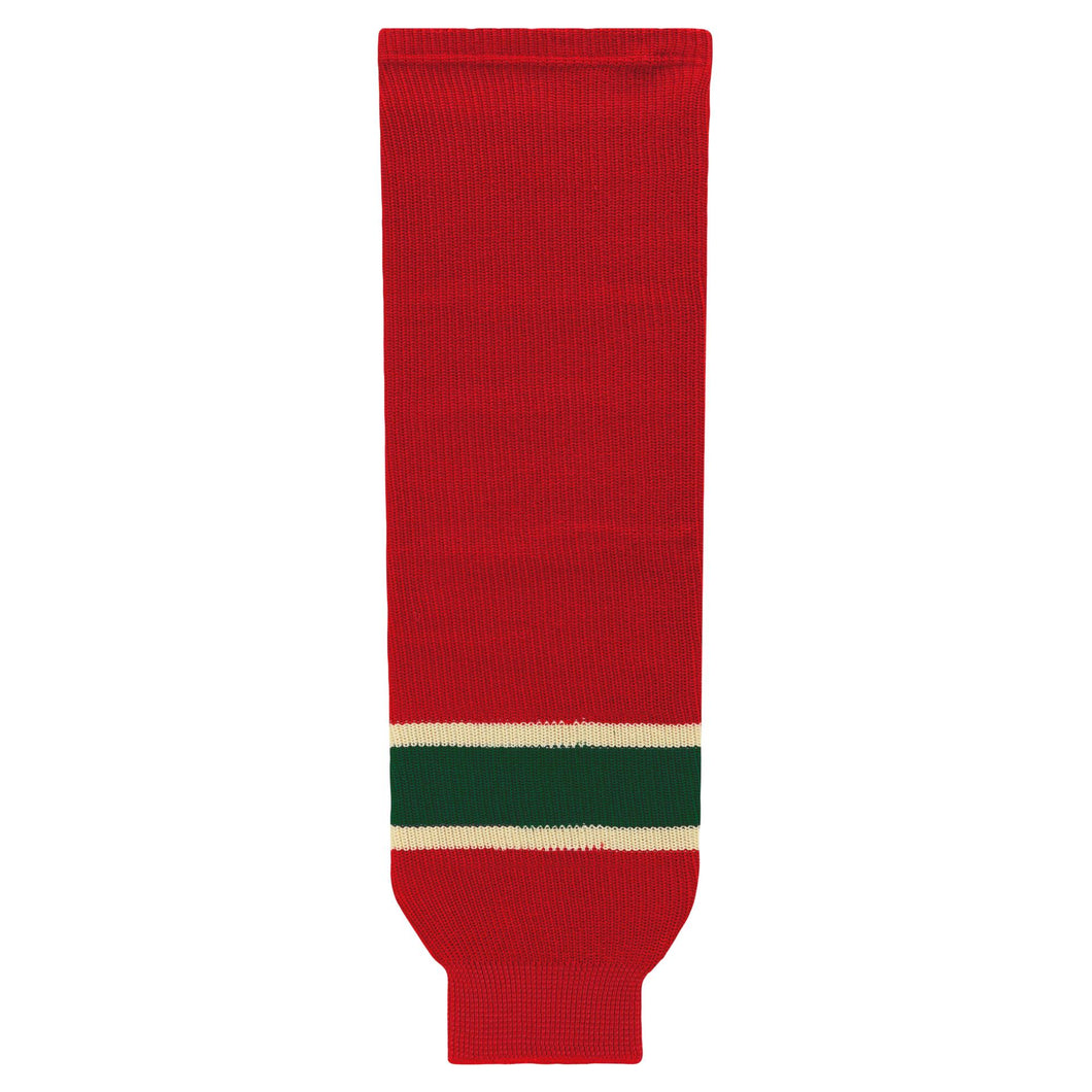 HS630-564 Minnesota Wild Hockey Socks