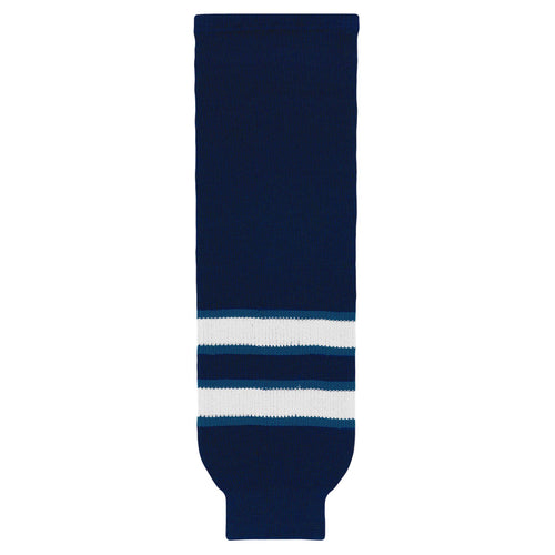 HS630-595 Winnipeg Jets Hockey Socks