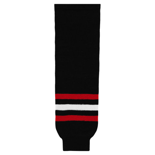HS630-614 Chicago Blackhawks Hockey Socks