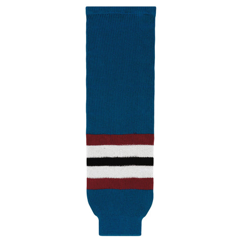 HS630-645 Colorado Avalanche Hockey Socks