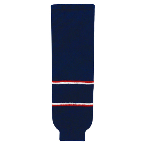 HS630-688 Columbus Blue Jackets Hockey Socks