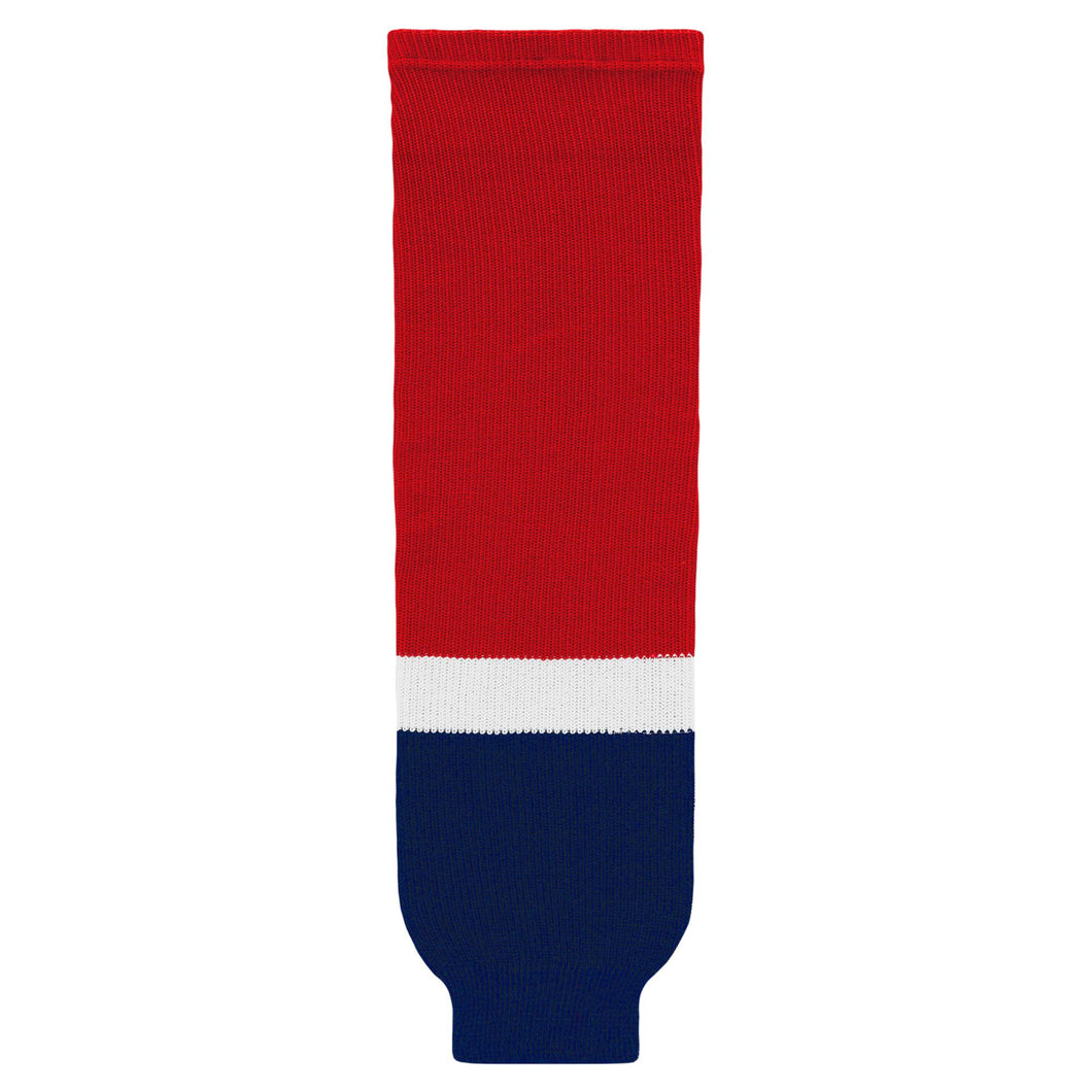 HS630-808 Washington Capitals Hockey Socks
