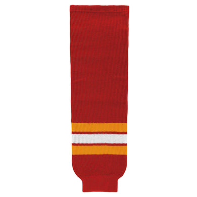 HS630-885 Calgary Flames Hockey Socks