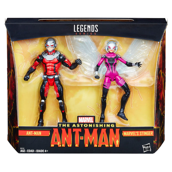 Dúo Ant-Man y Marvel's Stinger Ant-Man Marvel Legends Hasbro