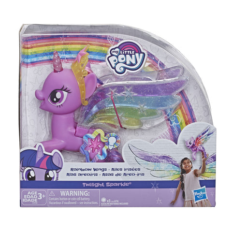 Juguete My Little Pony Sparkle Alas de Arcoíris Luces Hasbro