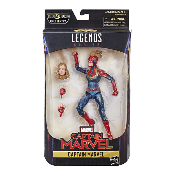 Captain Marvel Figuras de Acción Coleccionables Legends Hasbro