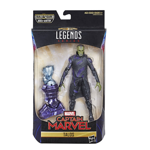 Talos Skrull Captain Marvel Figuras de Accion Coleccionables Legends Hasbro