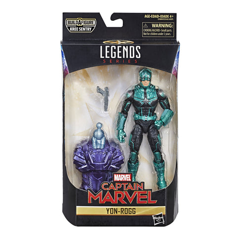 Yon-Rogg Captain Marvel Figuras de Acción Coleccionables Legends Hasbro