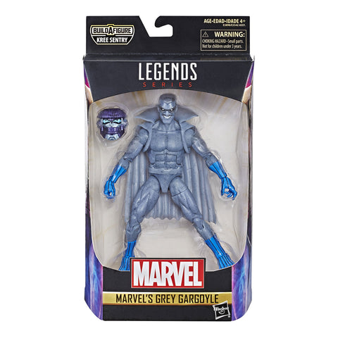 Grey Gargoyle Captain Marvel Figuras de Accion Coleccionables Legends Hasbro