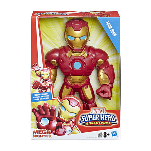 Figura Iron Man Mega Mighties Marvel Super Hero Hasbro