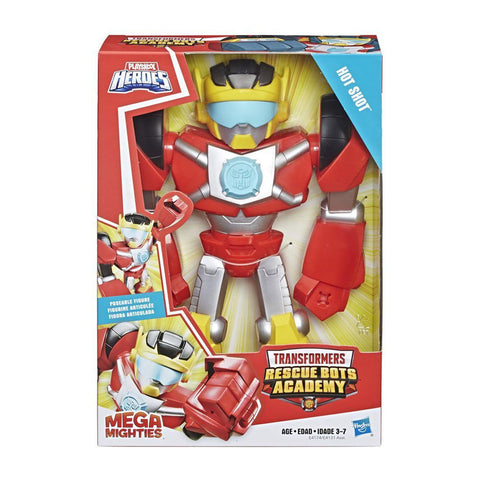 Figura Transformers Hot Shot Mega Mighties Playskool Hasbro
